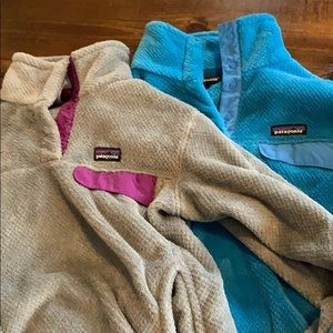 Lot 2 Patagonia retooled 3snap pull over M